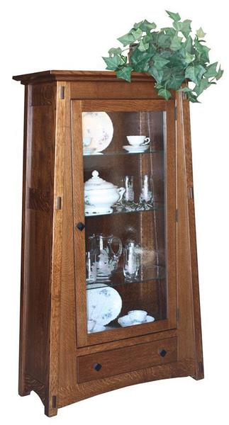 Amish McCoy Hutch with One Door