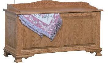 Amish Portland Blanket Chest with Raised Panels