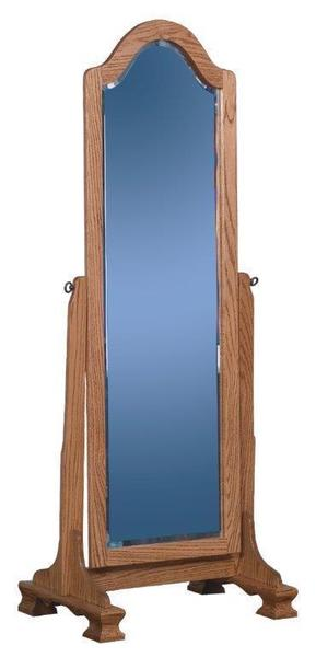 Amish Cathedral Cheval Mirror