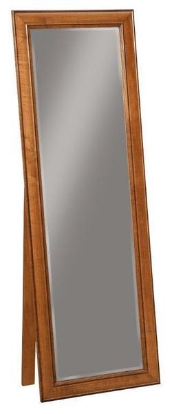 Amish Plantation Cheval Floor Mirror