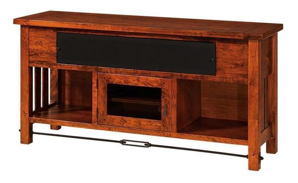"Amish Jordan 60"" Open TV Stand"