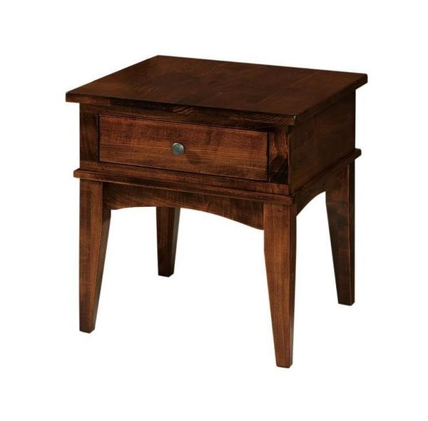 Amish Amarillo Large End Table