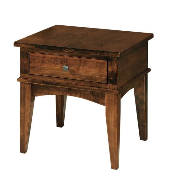 Amish Amarillo End Table