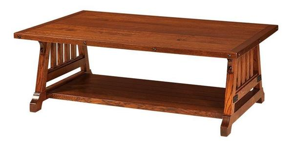 "Amish Garber 54"" Coffee Table"