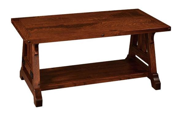 "Amish Garber 42"" Coffee Table"