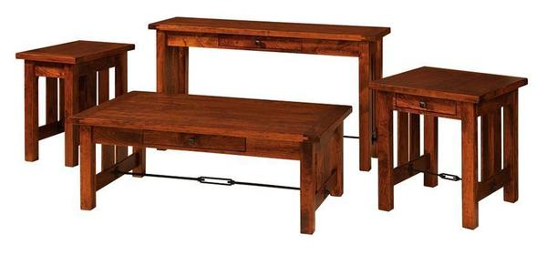 Amish Jordan Chairside Table