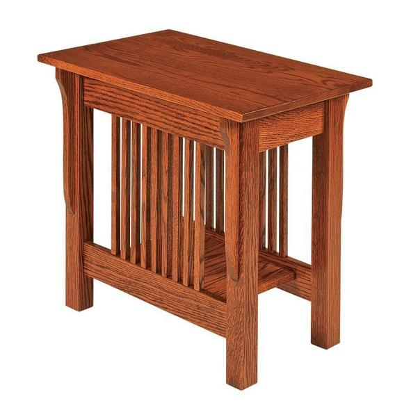 Amish Leah Mission Small End Table