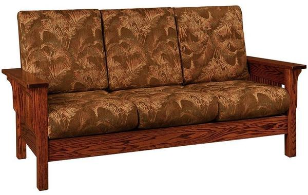 Amish Lancaster Mission Sofa