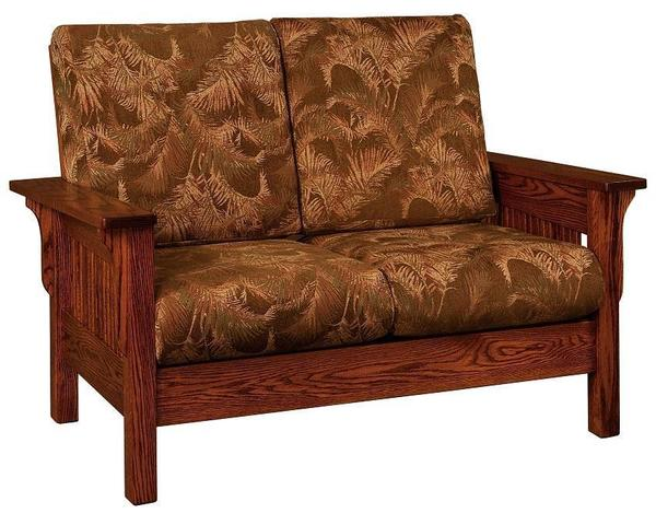Amish Lancaster Mission Loveseat