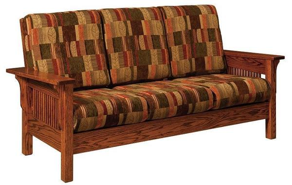 Amish Leah Mission Sofa