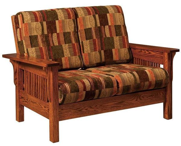 Amish Leah Mission Loveseat
