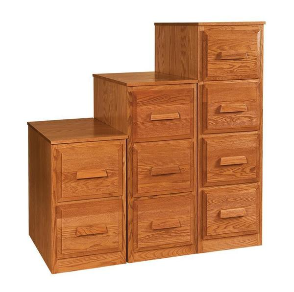 Amish Office Furniture Classic Farmers File Cabinet