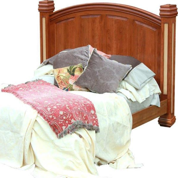 Amish Timber Ridge Arched Panel Bed