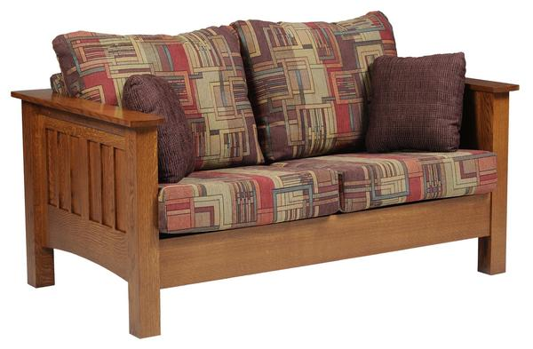 Amish Mount Hope Mission Love Seat