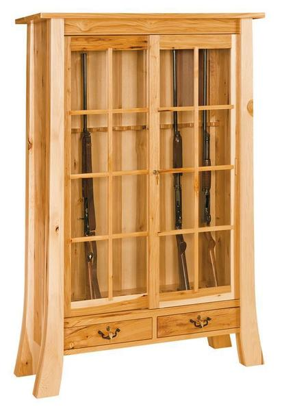 Witmer Amish Made Gun Cabinet