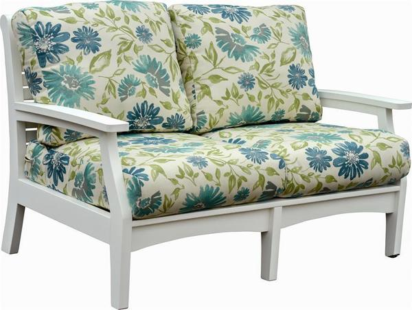 Berlin Gardens Patio Classic Terrace Poly Love Seat