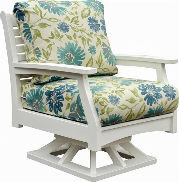 Berlin Gardens Classic Terrace Poly Swivel Rocker
