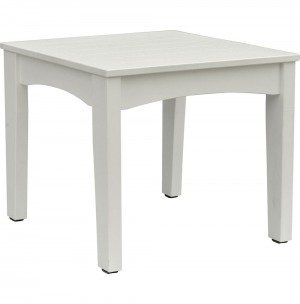 Berlin Gardens Classic Patio Terrace Poly End Table