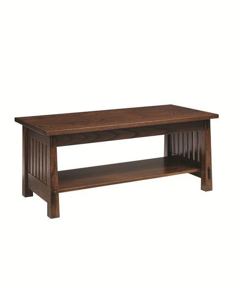 Amish Family Mission Coffee Table