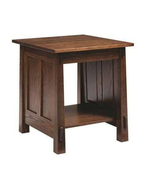 Amish Country Shaker End Table