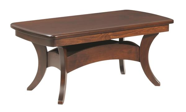 Amish Bristol Cross Coffee Table