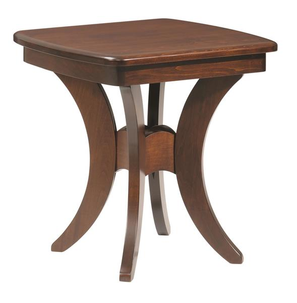Amish Bristol Cross End Table