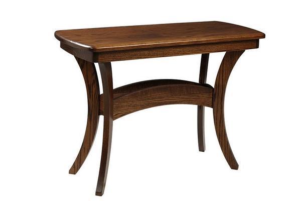 Amish Bristol Cross Sofa Table