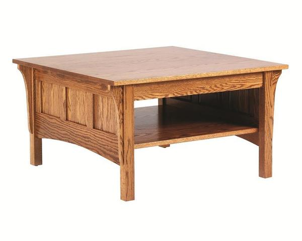 Amish Square Shaker Coffee Table