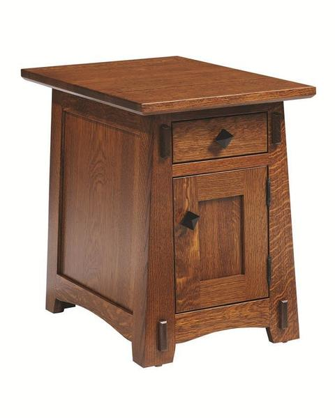 Amish Goshen Shaker Chairside End Table