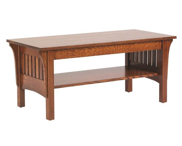 Amish Classic Mission Coffee Table