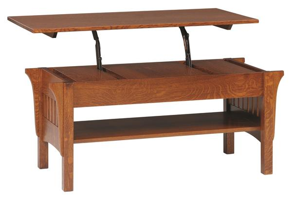 Amish Mission Lift-Top Coffee Table