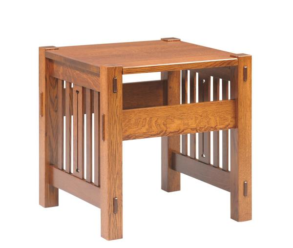 Amish Morris Mission End Table