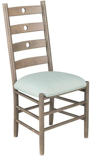 Milan Ladder Back Dining Chair by Keystone