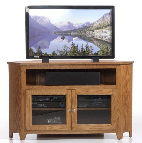 Amish Economy Corner TV Stand - Quick Ship