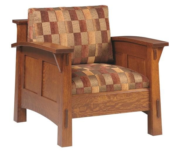 Amish Country Shaker Lounge Chair