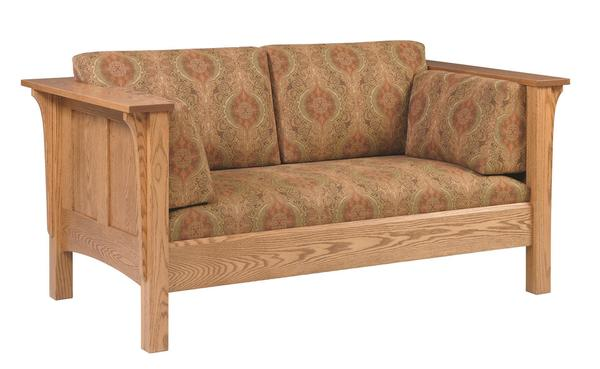 Amish Shaker Deluxe Loveseat