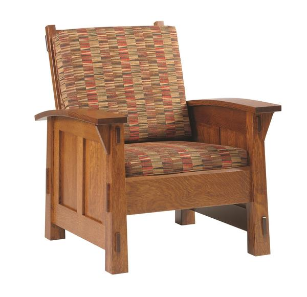 Amish Goshen Shaker Lounge Chair