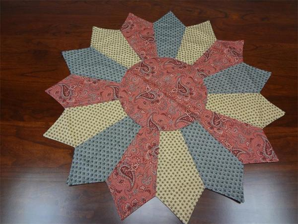 Amish Made Large Star Table Center