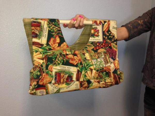 Amish Made Fabric Casserole Carrier