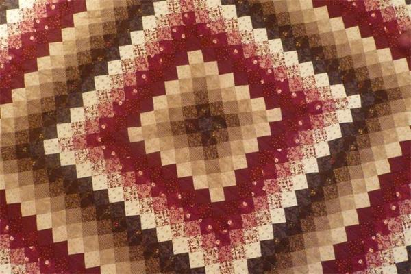 Amish Quilt Sunshine and Shadow