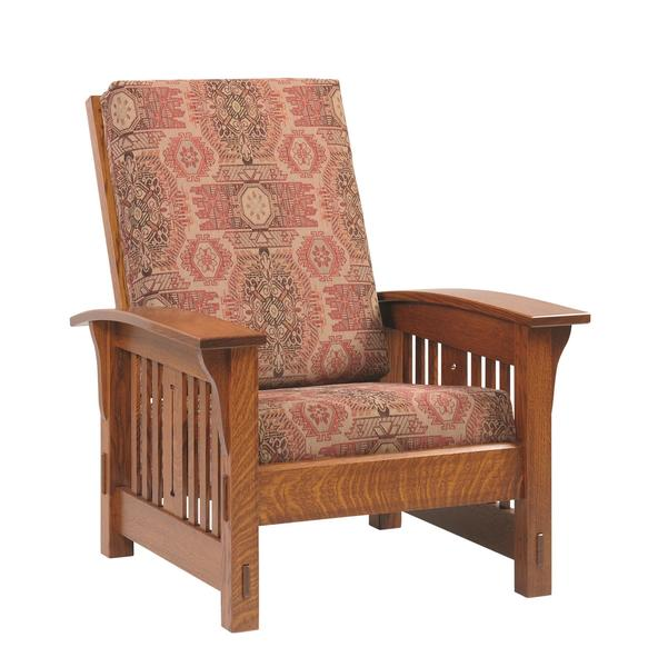 Amish Morris Mission Lounge Chair