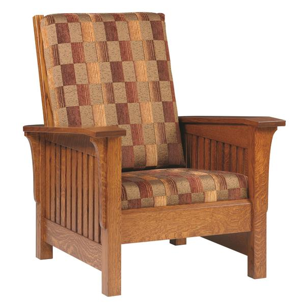 Amish Mission Deluxe Lounge Chair
