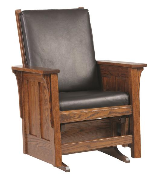 Amish Fredericksburg Glider Chair