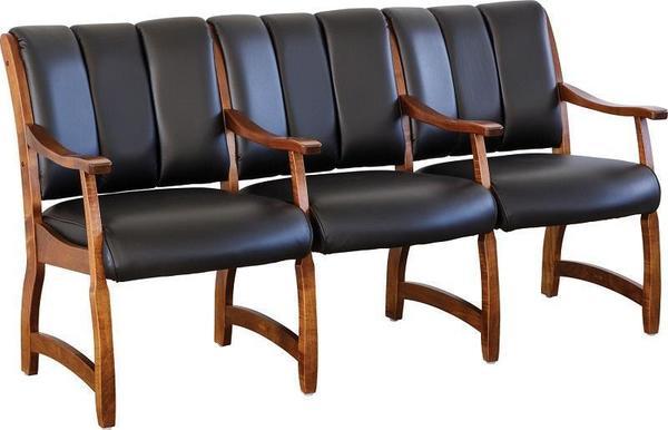 Amish Midland Lobby Chair Set
