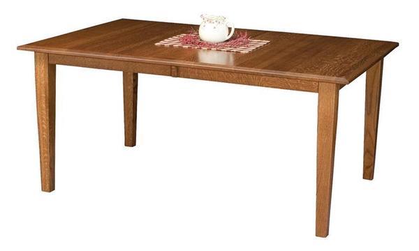 Amish Bridgeport Mission Leg Table