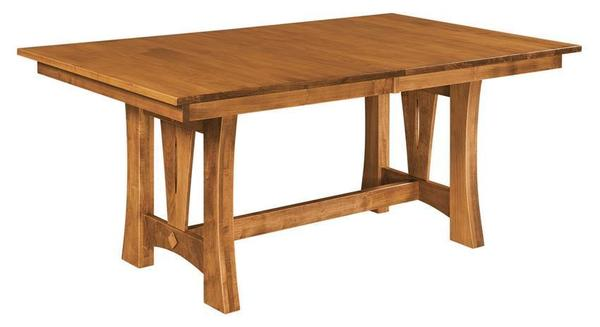 Amish Sierra Trestle Table