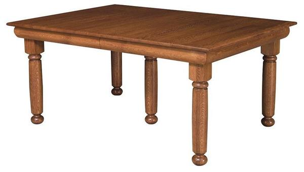 Amish Irving Leg Table