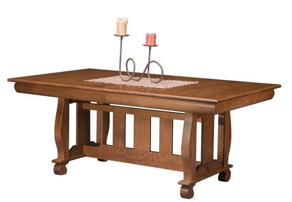 Amish Irving Trestle Table