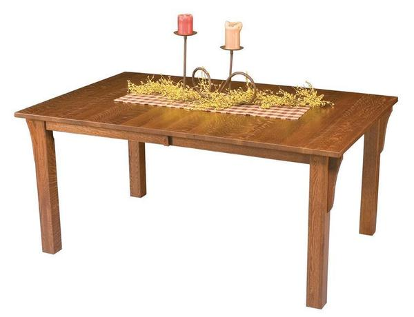 Amish Mission Leg Table