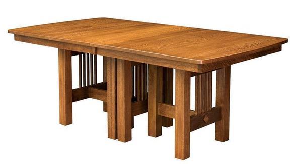 Amish Hialeah Trestle Table